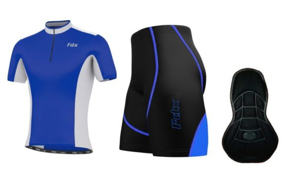 FDX Performance Race Team Cycling Set