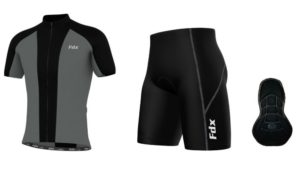 FDX Race Padding Cycling Set