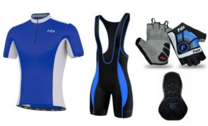 FDX Team Quality Cycling Set + Gloves