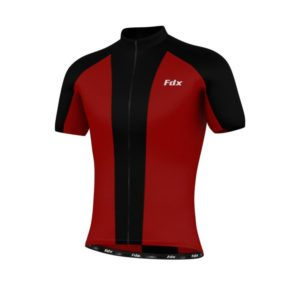 FDX Race Stipe Half Sleeve Jersey
