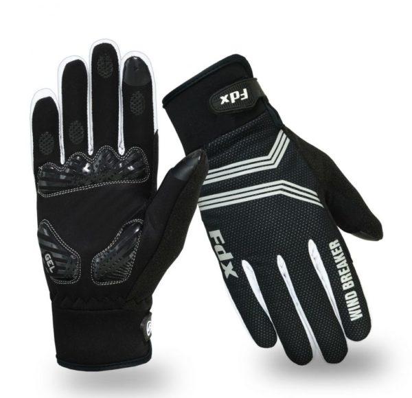 FDX Winter Wind Breaker Gel Cycling Gloves