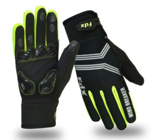 FDX Winter Wind Breaker Gel Cycling Gloves